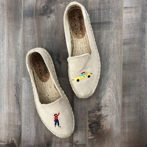 Soludos espadrilles with adorable embroidery